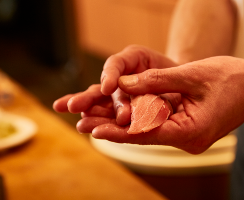 Sushidokoro Ginza Fukusuke  (sushi)
